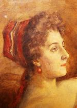 Портрет фрейлины российского императорского двора Ивановой М.В.