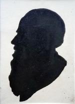 Портрет Л.Н. Толстого. Силуэт.