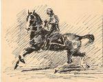""""""" Наездник на лошади """""""
