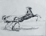 """ Жокей на лошади """