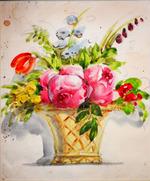 """ Цветы в вазе """