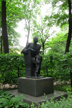 Эскиз памятника актёра Н.К. Черкасова