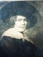 Портрет Франца Хальса.  Офорт.