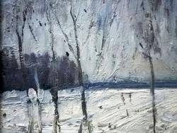 """"""" Первый снег.  Осень """""""
