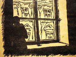 Иллюстрация к произведению Ф.М. Достоевского.