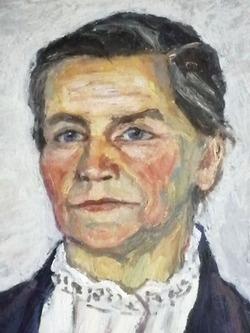 """"""" Портрет сельской учительницы """""""