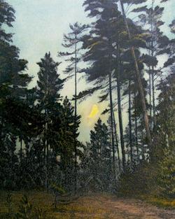 """""""Лесной пейзаж. Вечер"""""""