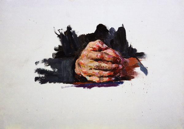 живопись руки: