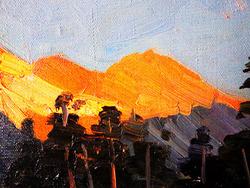 """""""Восход солнца в горах"""""""