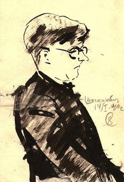 Портрет Д.Д. Шостаковича