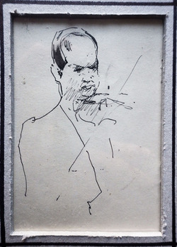 Портреты Давида Ойстраха.