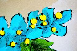 """""""Голубые цветы"""""""