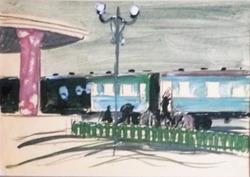"""""""Посадка в поезд"""""""