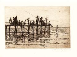 """""""Рыбаки на причале"""""""