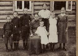 """Фотография """"Мать и семеро детей"""""""