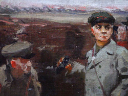 """""""1941 год. К.Е. Ворошилов на подступах к Ленинграду""""."""