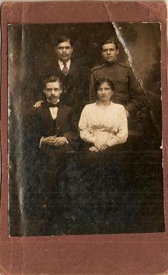 """Фотография """"Три мужчины и дама"""""""