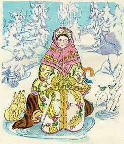 """""""Морозко""""  Иллюстрация"""