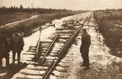 Фотографии из жизни партизан