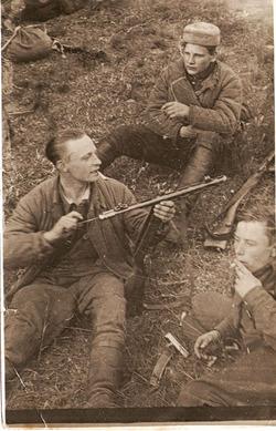 Фотографии из жизни партизан.