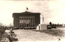 Три фотографии Музея Сталина в  Туруханском крае