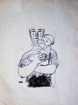 """""""Женщина с ребёнком"""""""