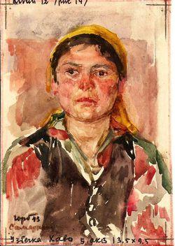 Портрет узбечки