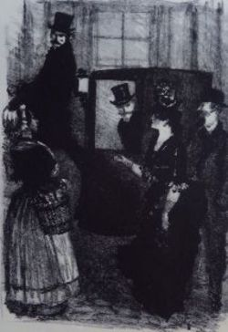 Иллюстрация к роману Г. де Мопассана