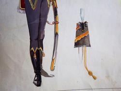 Эскиз костюма Томского