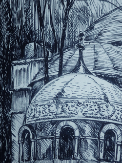 """""""Гробница на Никольском кладбище Александро-Невской лавры"""""""