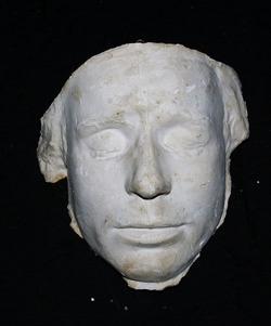 Посмертная маска С.А. Есенина