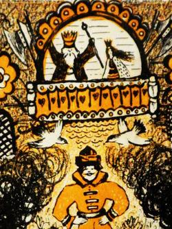 Иллюстрация к сказке П. Ершова