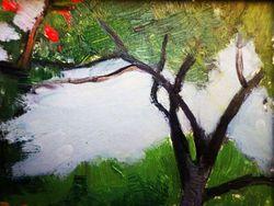 """""""Пейзаж с деревьями"""""""