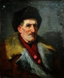 """""""Портрет мужчины в шапке и тулупе"""""""