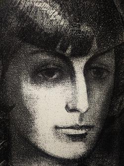 Портрет М. Цветаевой