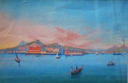 """""""Вид Неаполя с моря"""""""