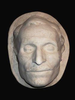 Посмертная маска Н.В. Гоголя.