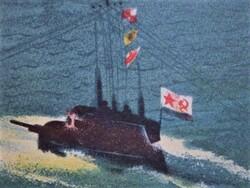"""""""Всплытие подводной лодки"""""""