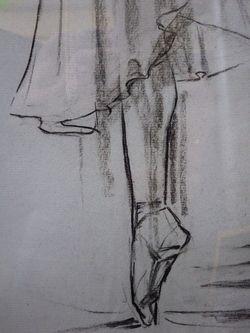 """""""Балерина"""" (поворот влево)"""