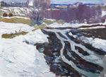 """Коллекция leningradart.com, выставка ТАТАРИНОВ Г.А. """"Лирический пейзаж"""" 1960-1990 г.г."""