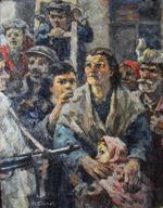 """Коллекция leningradart.com, выставка Павловский Г.В. сюита  """"Непокорённые"""""""
