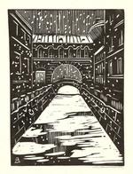 """Коллекция leningradart.com, выставка ДВИНЯНИНОВ М.М. """"Ленинградский городской пейзаж"""""""