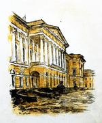"""Коллекция leningradart.com, выставка Львов П.И. """"Довоенный Ленинград"""""""