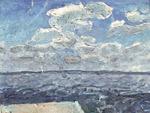 """Коллекция leningradart.com, выставка ТАТАРЕНКО А.А..""""Море, чайки, белый пароход"""""""