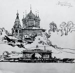 """Коллекция leningradart.com, выставка КАНЕЕВ М.А. """"Путевые зарисовки"""""""
