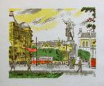 """Коллекция leningradart.com, выставка КОНАШЕВИЧ В.М.""""Ленинград.Новые пейзажи.1917-1932"""""""