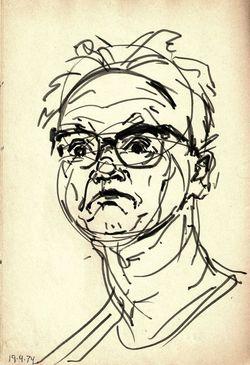 """выставка СИНАНИ В.А. """"35 автопортретов"""""""