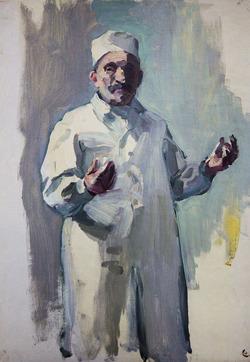 """Коллекция leningradart.com, выставка """"ТРУФАНОВ М.П. Портрет. 1950-1980-е г.г."""""""