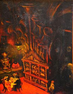 Выставка СТАРОДУБЦЕВ БОРИС МИТРОФАНОВИЧ. Живопись,графика,коллажи,объекты.