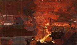 """Коллекция leningradart.com, ТРУФАНОВ М.П. """"Производственная тема.Подготовительный материал. 1950-е г.г."""""""